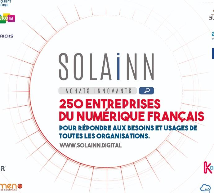 Nouveau mapping SOLAINN250 : la marketplace des solutions numériques françaises